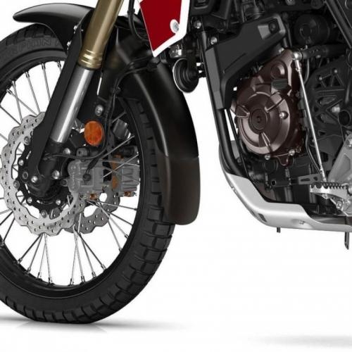 Προέκταση Μπροστινού Φτερού Tenere 700 Ermax 2020-2021 Yamaha Μαύρη