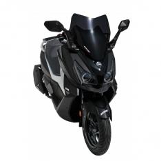 Ζελατίνα Cruisym 300 i Ermax Κοντή 2018-2020 Sym Σκούρο Φιμέ 45cm