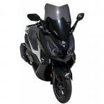 Ζελατίνα Cruisym 300 i Ermax Κοντή 2018-2020 Sym Σκούρο Φιμέ 50cm