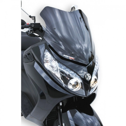 Ζελατίνα Maxsym 400/600 i Ermax Κοντή 2011-2019 Sym Σκούρο Φιμέ 52cm