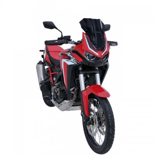 Ζελατίνα CRF 1100 L Africa Twin Ermax Κοντή 2020-2021 Honda Σκούρο Φιμέ 39cm