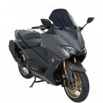 Ζελατίνα T Max 560 Ermax Κοντή 2020-2021 Yamaha Σκούρο Φιμέ 36cm