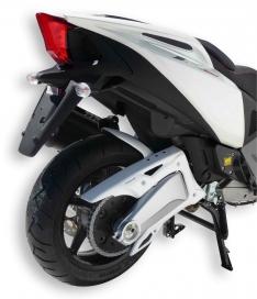 Φτερό Πίσω Τροχού SRV 850 Ermax 2012-2017 Aprilia Μαύρο Άβαφο Πλαστικό