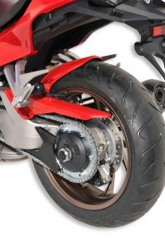 Φτερό Πίσω Τροχού VFR 800 Ermax 2014-2020 Honda Μαύρο Άβαφο Πλαστικό