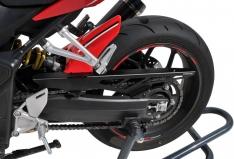 Φτερό Πίσω Τροχού CBR 650R Ermax 2019-2020 Honda Μαύρο Άβαφο Πλαστικό