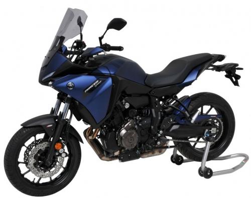 Φτερό Πίσω Τροχού MT 07 Tracer Ermax 2020-2021 Yamaha Μαύρο Άβαφο Πλαστικό