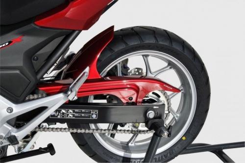 Φτερό Πίσω Τροχού NC 750 X Ermax 2016-2020 Honda Μαύρο Άβαφο Πλαστικό