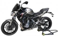 Φτερό Πίσω Τροχού Z 650 Ermax 2017-2019 Kawasaki Μαύρο Άβαφο Πλαστικό