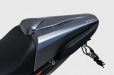Μονόσελο CB 650F Ermax 2017-2018 Honda Μαύρο Άβαφο Πλαστικό