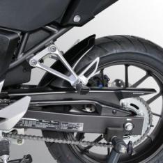 Φτερό Πίσω Τροχού CB 500 X Ermax 2013-2015 Honda Μαύρο Άβαφο Πλαστικό