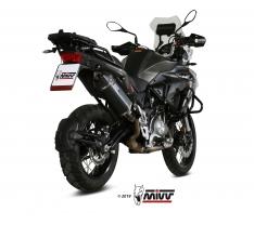 Τελικό Εξάτμισης Mivv Speed Edge Μαύρο TRK 502 X 2018-2020