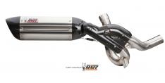 Τελικό Εξάτμισης Mivv Suono Multistrada 1200 15-17 και 1260 18-20 Ανοξείδωτο Χωρίς Καταλύτη