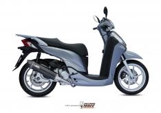 Ολόσωμη Εξάτμιση Mivv Stronger SH 300 2007-2014 Ανοξείδωτη