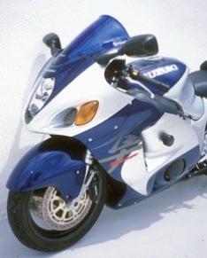 Ζελατίνα GSXR 1300 R Hayabusa Κουρμπαριστή Ermax 1999-2007 Suzuki Σκούρο Φιμέ