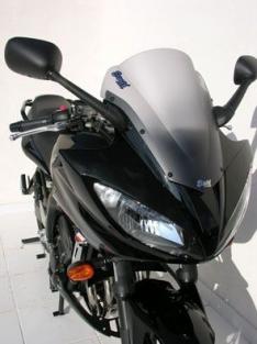 Ζελατίνα Fazer 600 FZ6 S2 Κουρμπαριστή 2007-2010 Yamaha Σκούρο Φιμέ