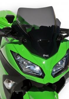 Ζελατίνα Ninja 300 Κουρμπαριστή Ermax 2013-2016 Kawasaki Σκούρο Φιμέ 40cm