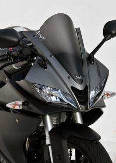 Ζελατίνα YZF R 125 Κουρμπαριστή 2015-2018 Yamaha Σκούρο Φιμέ