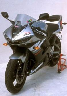 Ζελατίνα YZF R6 Κουρμπαριστή 2003-2005 Yamaha Σκούρο Φιμέ
