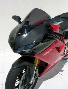 Ζελατίνα 848/1098/1198 Κουρμπαριστή Ermax 2007-2012 Ducati Σκούρο Φιμέ