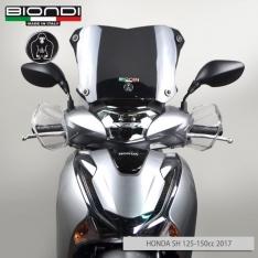 Ζελατίνα SH 150 2017-2019 Honda Biondi Κοντή Σκούρο Φιμέ 28x40cm