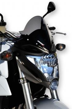 Ζελατίνα CB 1000R Ermax Κοντή 2008-2017 Honda Σκούρο Φιμέ 23cm
