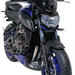 Ζελατίνα MT 07 Ermax Κοντή 2018-2020 Yamaha Σκούρο Φιμέ 39cm