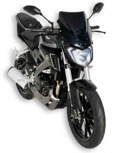 Ζελατίνα MT 125 Ermax Κοντή 2014-2019 Yamaha Σκούρο Φιμέ 36cm
