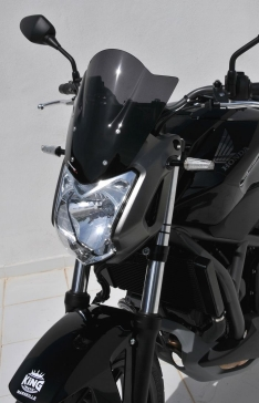 Ζελατίνα NC 700 S Ermax Κοντή 2012-2013 Honda Σκούρο Φιμέ 30cm