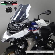 Ζελατίνα R1200/1250 GS Biondi Κοντή 2013-2020 BMW Σκούρο Φιμέ 44cm