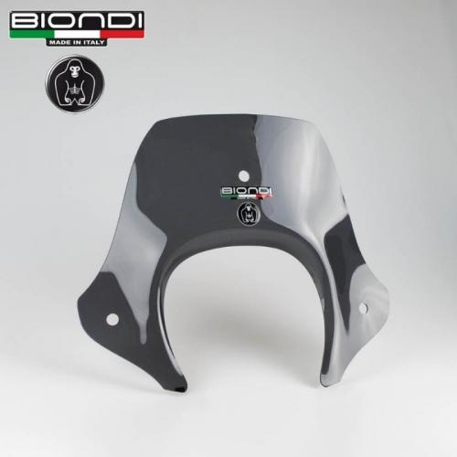Ζελατίνα Beverly 300/350 2010-2016 Piaggio Biondi Κοντή Wild Σκούρο Φιμέ 34x41cm