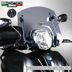 Ζελατίνα Beverly 300/350 2010-2016 Piaggio Biondi Κοντή Club Ελαφρώς Φιμέ 34x41cm