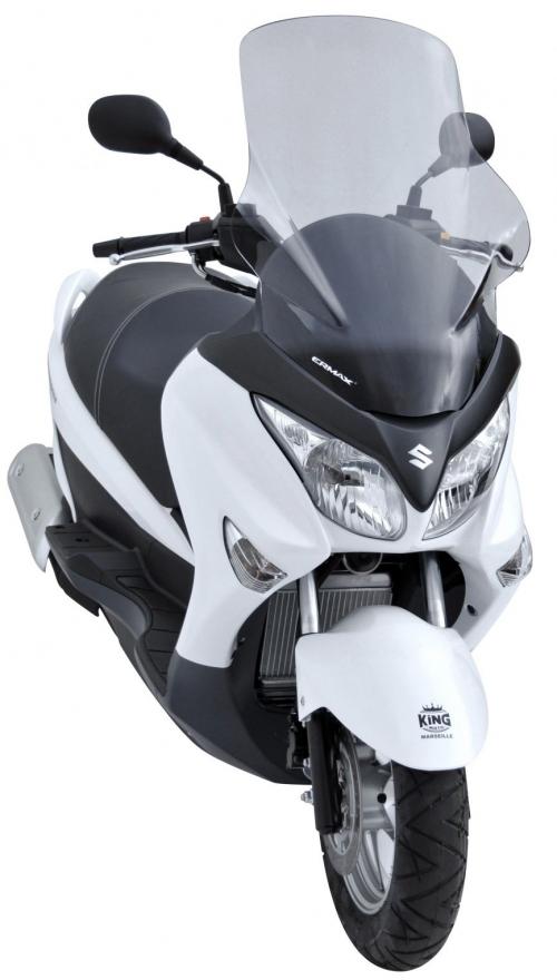 Ζελατίνα Burgman 200 Ermax Ψηλή 2007-2020 Suzuki Ελαφρώς Φιμέ 70cm