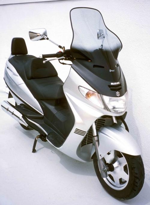 Ζελατίνα Burgman 250/400 Ermax Ψηλή 1998-2002 Suzuki Ελαφρώς Φιμέ