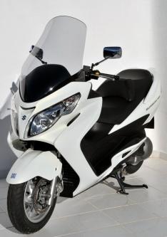 Ζελατίνα Burgman 400 Executive Injection Ermax Ψηλή 2006-2016 Suzuki Ελαφρώς Φιμέ 74cm