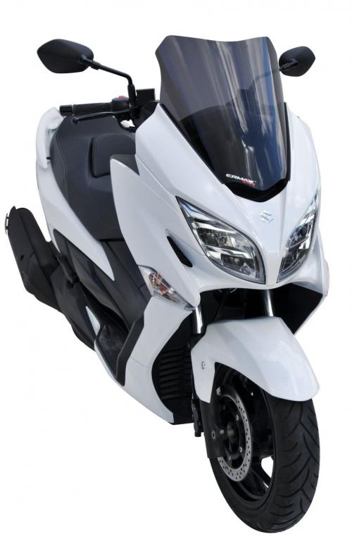 Ζελατίνα Burgman 400 Ermax Κοντή 2017-2020 Suzuki Σκούρο Φιμέ 44cm