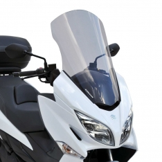 Ζελατίνα Burgman 400 Ermax Ψηλή 2017-2020 Suzuki Ελαφρώς Φιμέ 69cm