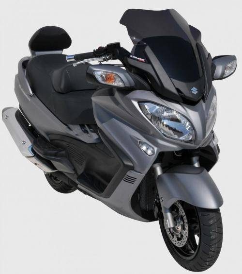 Ζελατίνα Burgman 650 Executive Ermax Κοντή 2013-2020 Suzuki Σκούρο Φιμέ 51cm