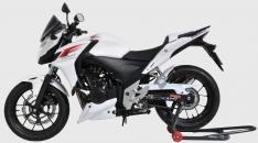 Προέκταση Μπροστινού Φτερού CB 500F Ermax 2013-2015 Honda Μαύρη