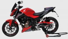 Προέκταση Μπροστινού Φτερού CB 500F Ermax 2016-2018 Honda Μαύρη