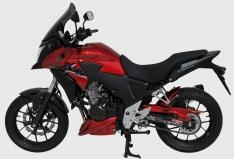 Προέκταση Μπροστινού Φτερού CB 500 X Ermax 2013-2015 Honda Μαύρη