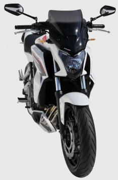 Ζελατίνα CB 650F Ermax Κοντή 2014-2016 Honda Σκούρο Φιμέ 36cm