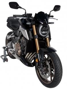Ζελατίνα CB 650R Ermax Κοντή 2019-2020 Honda Σκούρο Φιμέ 23cm