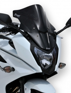Ζελατίνα CBR 650F Κουρμπαριστή Ermax 2014-2018 Honda Σκούρο Φιμέ 42cm