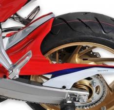 Φτερό Πίσω Τροχού CBR 650F Ermax 2014-2018 Honda Μαύρο Άβαφο Πλαστικό