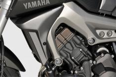 Αεραγωγοί Ψυγείου MT 09 Ermax 2014-2016 Yamaha Μαύροι