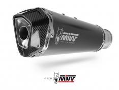 Τελικό Εξάτμισης Mivv Delta Race Μαύρο Multistrada 1200 2010-2014 Ανοξείδωτη