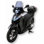 Ζελατίνα SH 300 Ermax Ψηλή 2007-2020 Honda Ελαφρώς Φιμέ 45cm