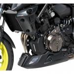 Καρίνα MT 07 Ermax 2018-2020 Yamaha Mαύρη Άβαφη
