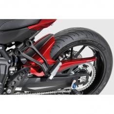 Φτερό Πίσω Τροχού MT 07 Tracer Ermax 2016-2019 Yamaha Μαύρο Άβαφο Πλαστικό