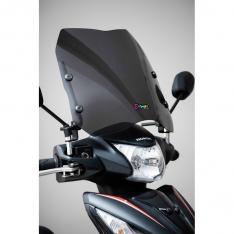 Ζελατίνα Universal Scooter Παπί Ermax Κοντή Σκούρο Φιμέ 35cm